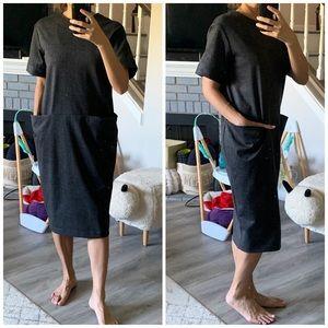ASOS Pocket Midi Dress